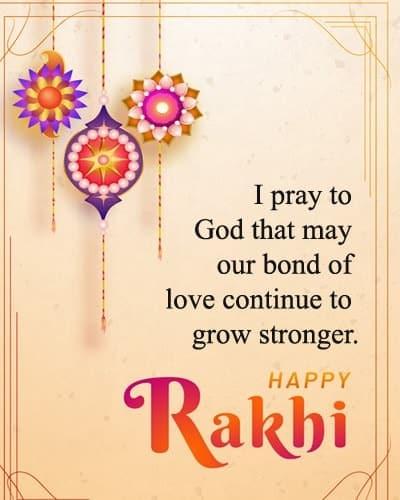 raksha bandhan status line, Happy Raksha Bhandhan Quotes for Sister in English