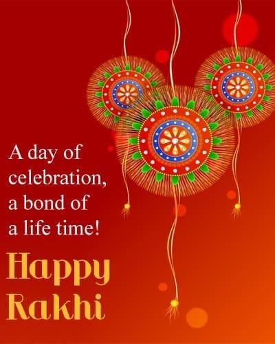 raksha bandhan lines, Best Messages About Sister Raksha Bandhan