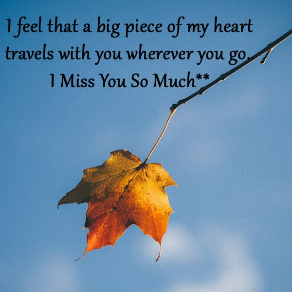 i miss you quotes for her
