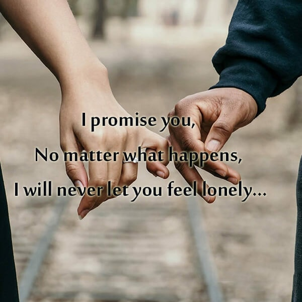 love promise sms for gf in english, promise status in english