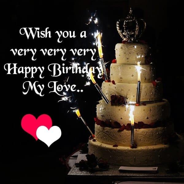 Happy birthday status love
