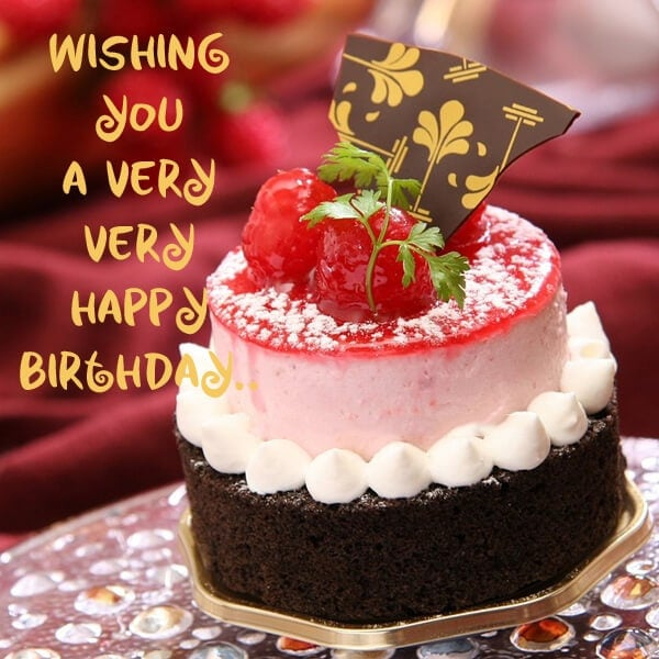Wishing You A Very Very Happy Birthday