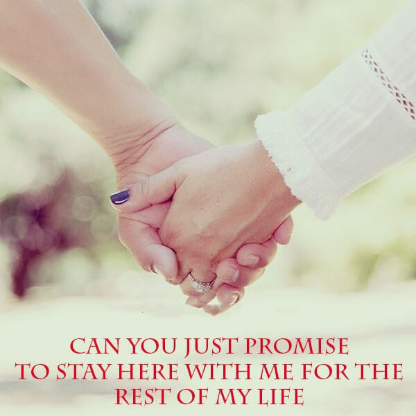 love promise sms for gf in english