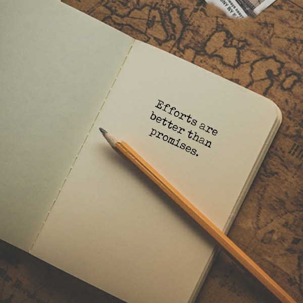 broken promise status in english