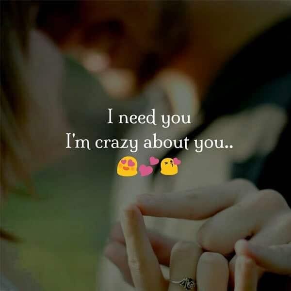 cute love status english