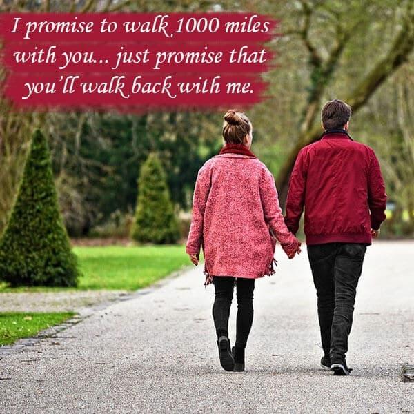 romantic promises for girlfriend