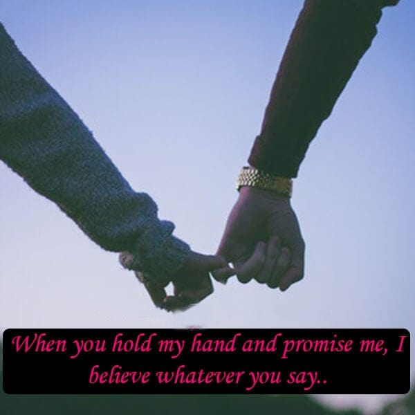 hold my hand images promise
