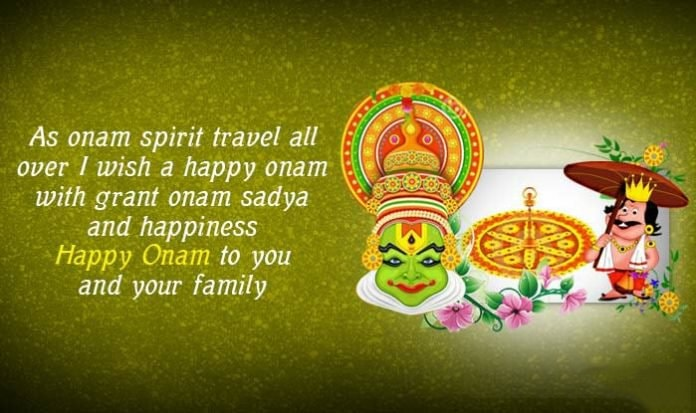 happy onam quotes in english, onam fb caption, Onam messages, Onam Wishes, Onam Wishes in English