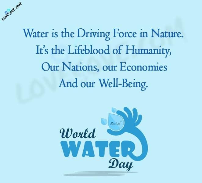 World Water Day, World Water Day Status, World Water Day Status In English World Water Day Images, World Water Day 2020 Images, World Water Day Theme, World Water Day 2020 Theme