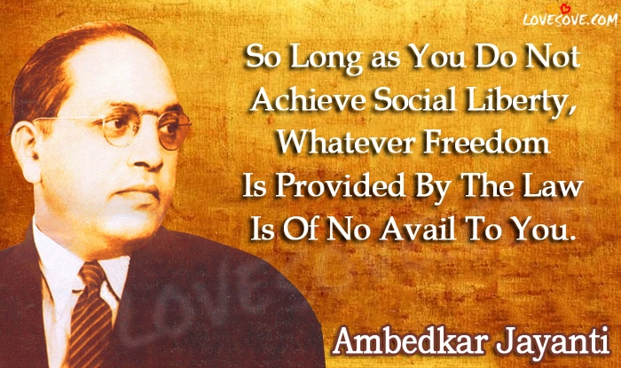 Happy Ambedkar Jayanti Wishes, Happy Ambedkar Jayanti