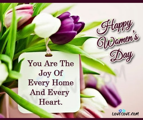 Happy Women's Day, Happy Women's Day Quotes images, Amazing Women's Day Quotes and Wishes