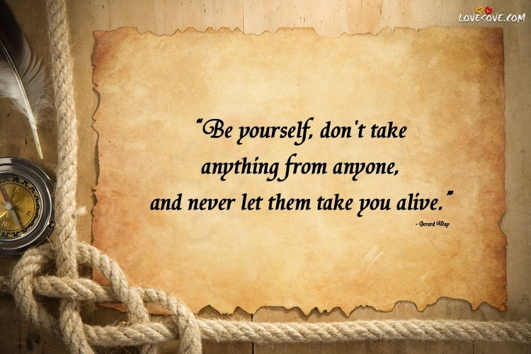 Yourself Quotes Inspirational Quotes On Being Yourself