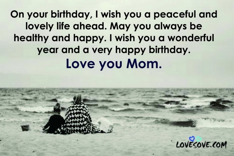 Miraculous Happy Birthday Wishes For Mom Birthday Quotes For Mother Personalised Birthday Cards Beptaeletsinfo