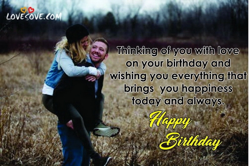 Best Romantic Special Birthday Wishes For Lovers