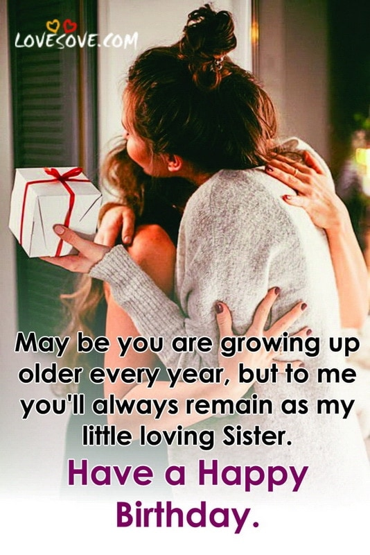 Best Birthday Wishes For Sister Messages Quotes