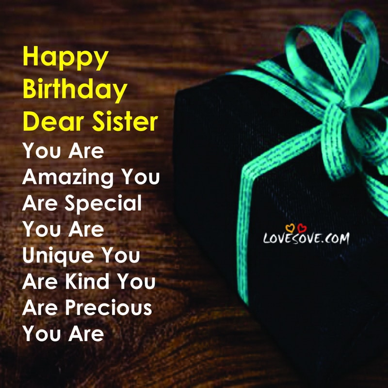 Surprising Best Birthday Wishes For Sister Messages Quotes Funny Birthday Cards Online Sheoxdamsfinfo