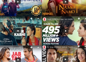 Best Of Sushant Singh Rajput Hit Songs, Tribute to Sushant Singh Rajput