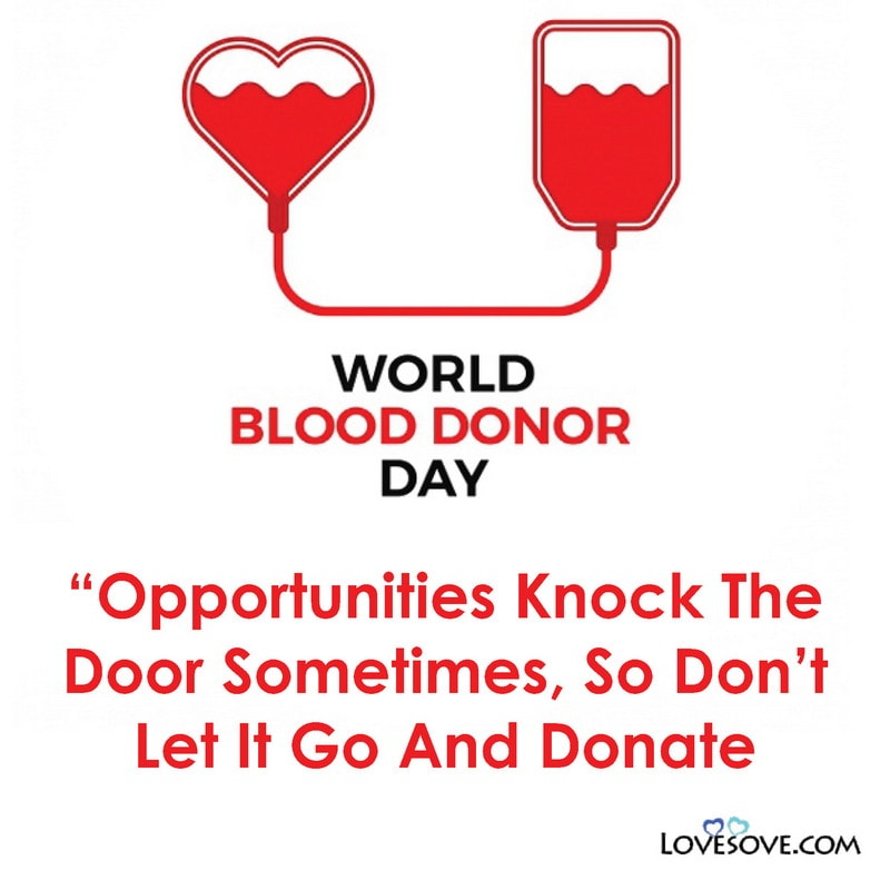World Blood Donor Day Best Messages, Quotes & Greetings
