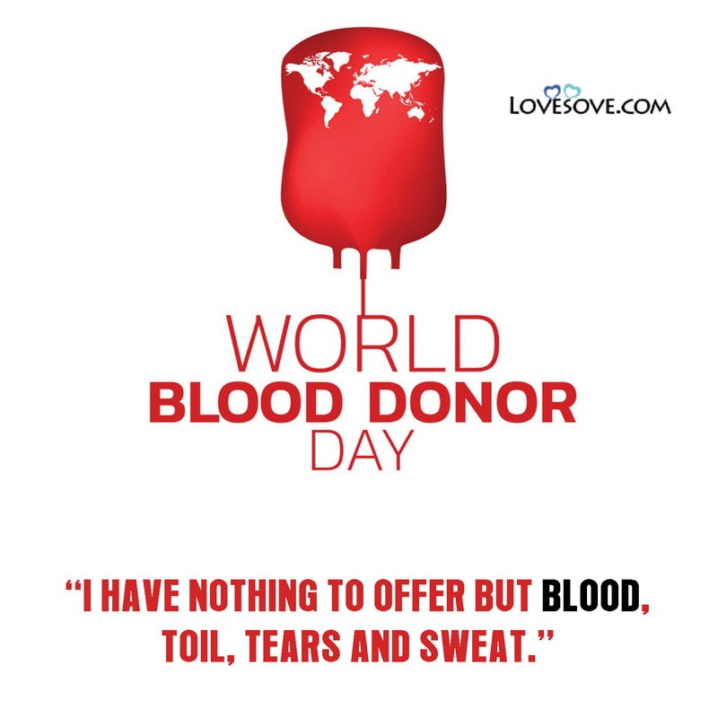 World Blood Donor Day 2020 Quotes