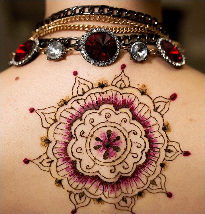 50+ Mesmerising Mehndi Designs For Ceremonies & Wedding, Wedding Mehndi Designs, back mehndi design for wedding