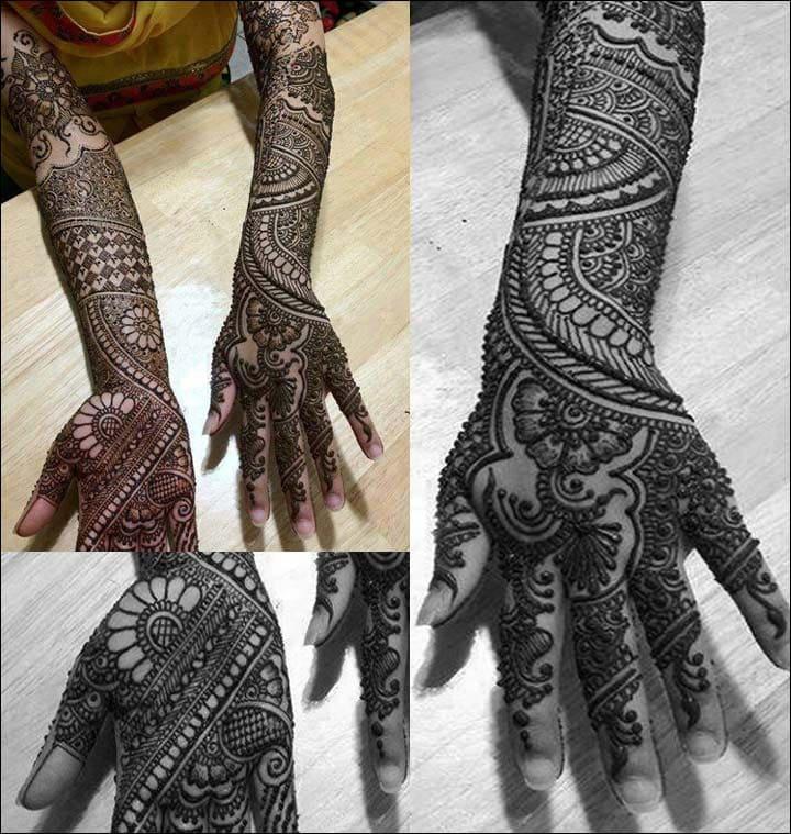 Traditional Rajasthani Bridal Henna Mehndi Design, Rajasthani Bridal Mehndi Designs For Hands, Rajasthani Bridal Mehndi Designs Images
