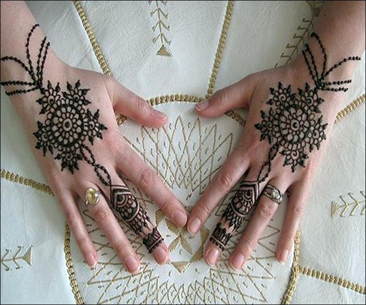 Mehndi Design Image, Mehndi Design Easy And Beautiful, Mehndi Back Hand Design, Mehndi Design Back, Mahendi On Hand