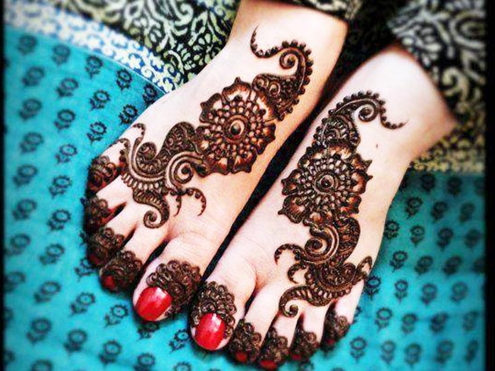 Mehndi Designs For Legs Arabic, Mehndi Designs For Legs Simple