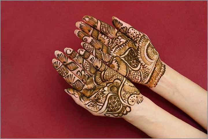 50+ Mesmerising Mehndi Designs For Ceremonies & Wedding, Wedding Mehndi Designs, north indian mehndi design