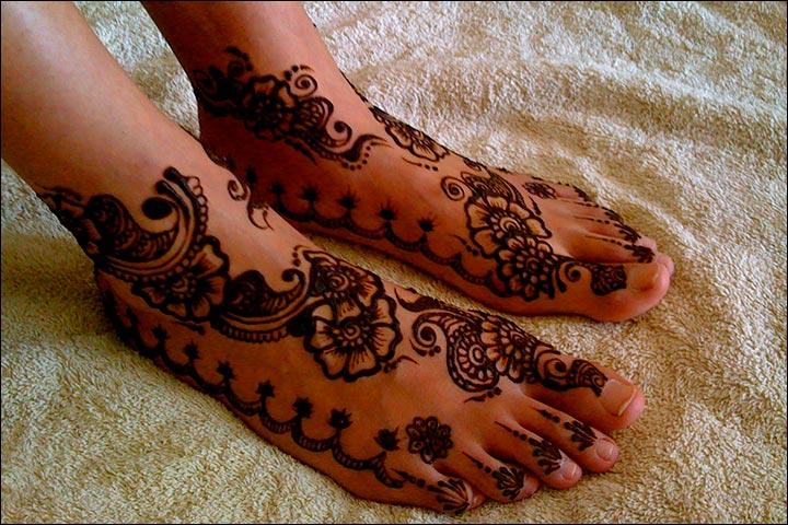 Mehndi Designs For Legs, Mehndi Designs For Legs Easy, Mehndi Designs For Legs Simple And Easy For Beginners
