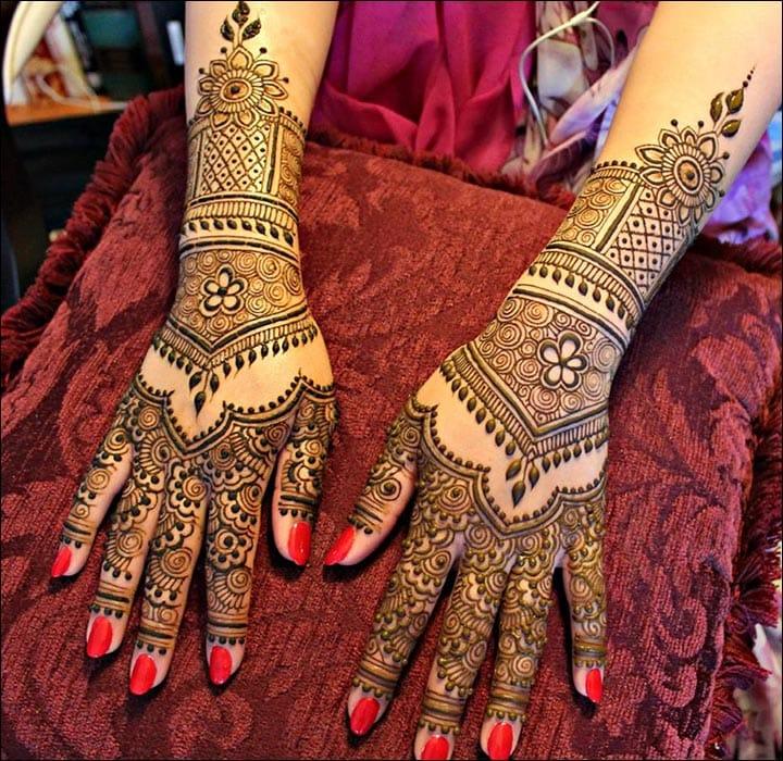 Rajasthani Bridal Mehndi Designs Pictures, Rajasthani Bridal Mehndi Design Download
