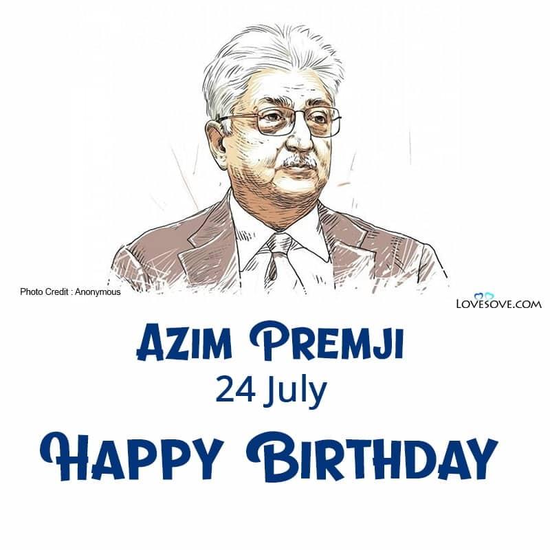 Azim Premji, Azim Premji Quotes, Azim Premji Famous Slogan, Azim Premji Photo,