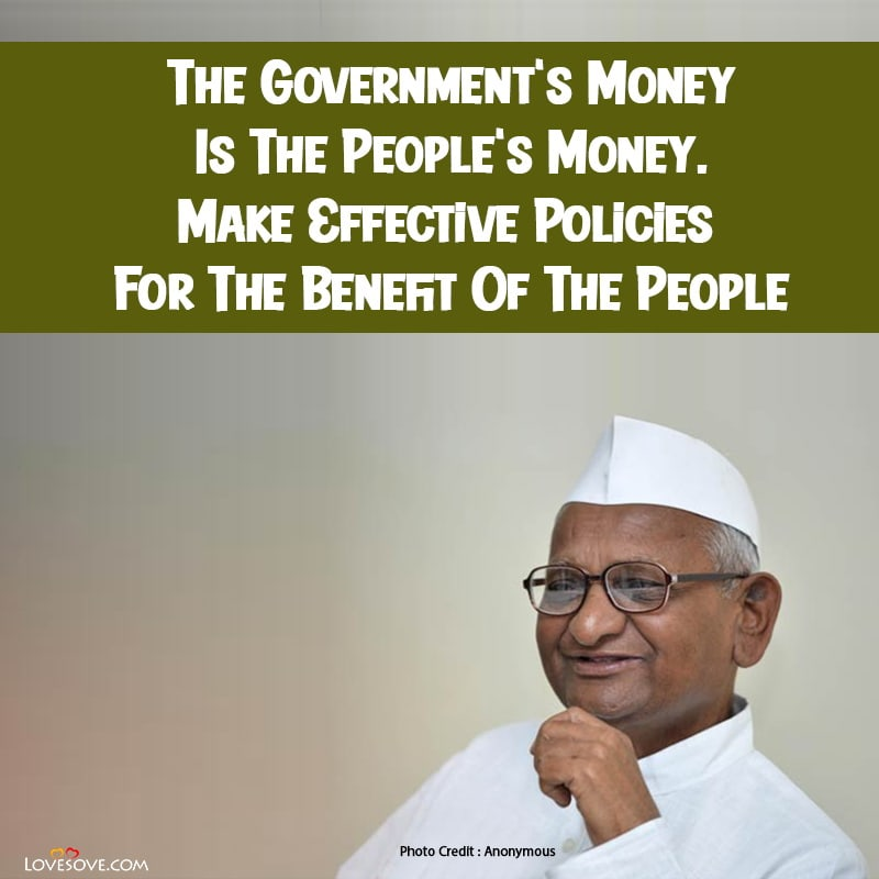 Inspirational Quotes By Anna Hazare, Quotes By Anna Hazare, Best Anna Hazare Quotes, Anna Hazare Quotes In Hindi,