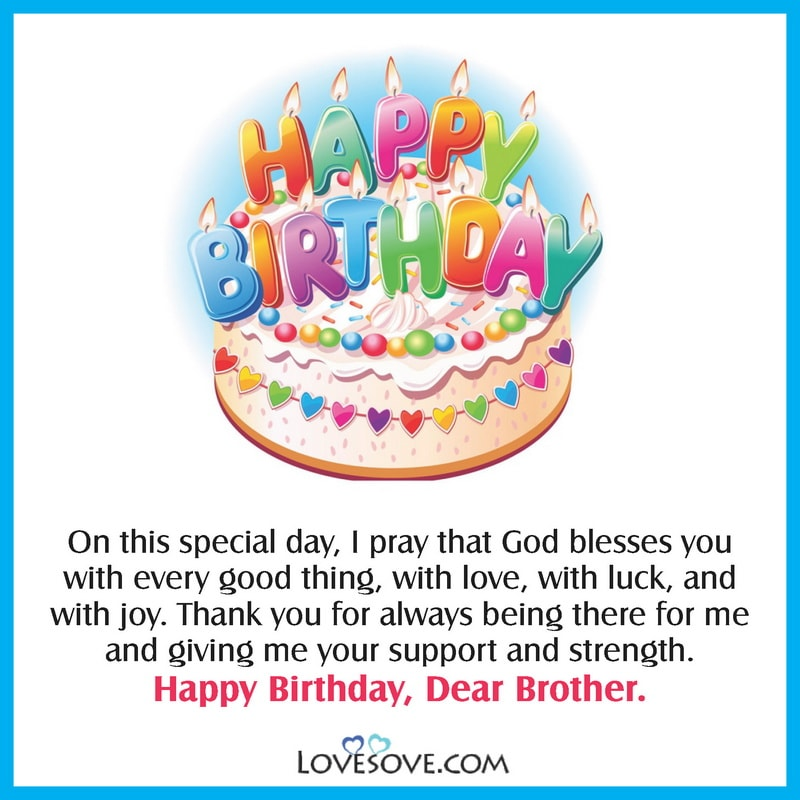 Happy Birthday Status Quotes For Brother Brother Birthday Wishes