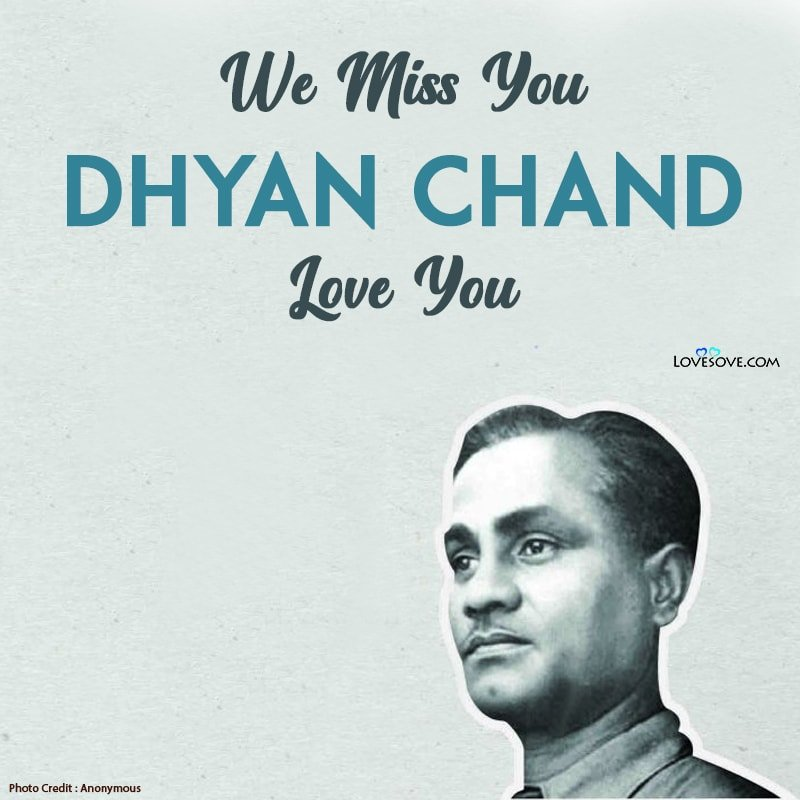 Dhyan Chand Status
