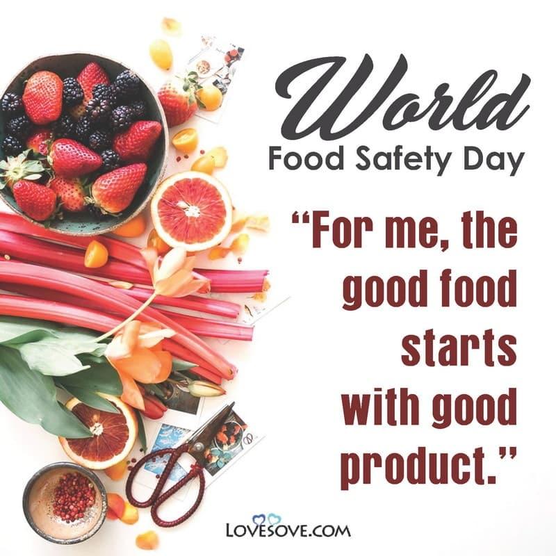 World Food Safety Day Resolution, World Food Safety Day Status, World Food Safety Day Images, World Food Safety Day June 7, World Food Safety Day Message, World Food Safety Day Captions,