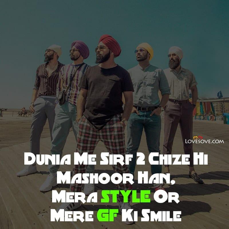 Attitude Quotes In Punjabi English