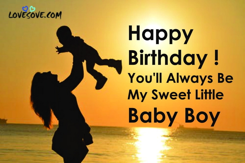 Birthday Status For Son In English Best Birthday Wishes For Son