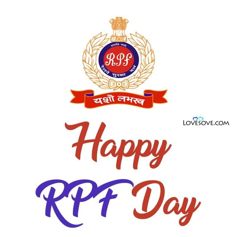 Rpf Foundation Day, About Rpf Foundation Day, Rpf Foundation Day 2020, Rpf Foundation Day Status,