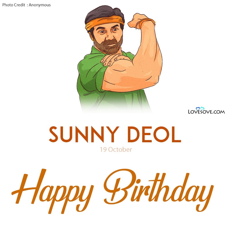 Happy Birthday Sunny Deol, Birthday Wishes For Sunny Deol, Sunny Deol Birthday Wishes, Birthday Status For Sunny Deol, Happy Birthday Sunny Deol Images,