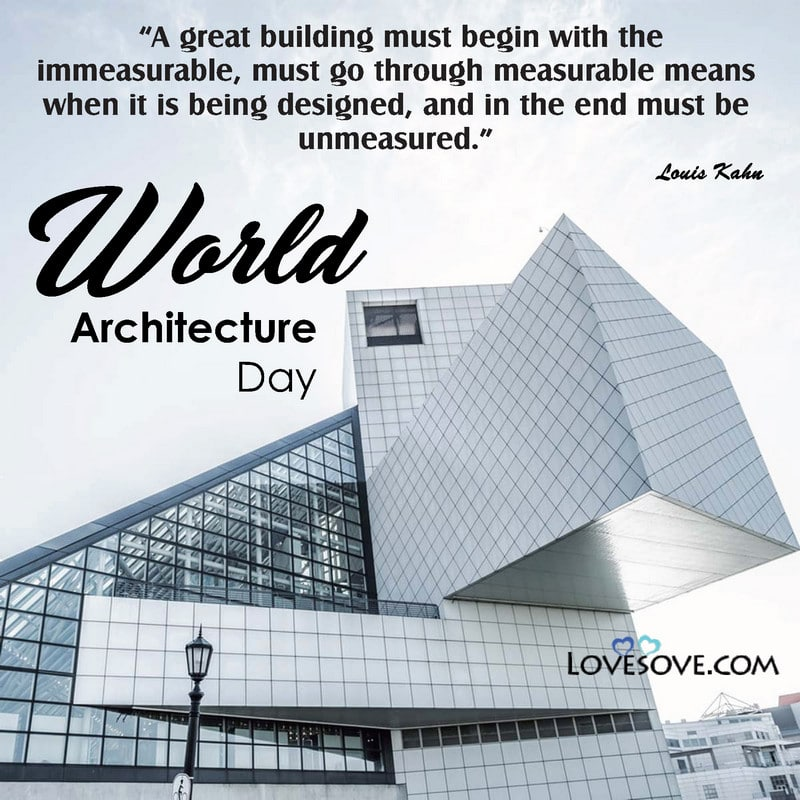 World Architecture Day, Happy World Architecture Day, World Architecture Day Poster, World Architecture Day Quotes, World Information Architecture Day 2020, World Architecture Day Memes, World Architecture Day Wishes,