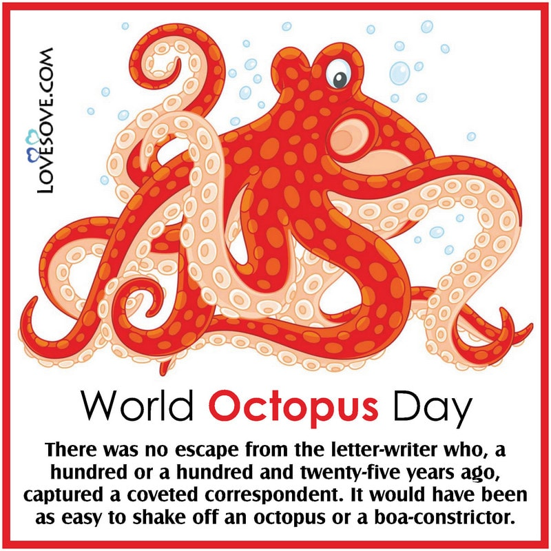 World Octopus Day, Happy World Octopus Day, World Octopus Day Poster, World Octopus Day Quotes, World Octopus Day Memes,