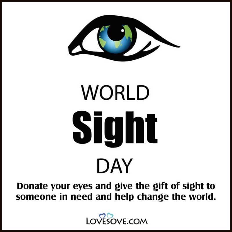 World Sight Day, Happy World Sight Day, World Sight Day Poster, World Sight Day Quotes, World Sight Day Memes, World Sight Day Wishes,