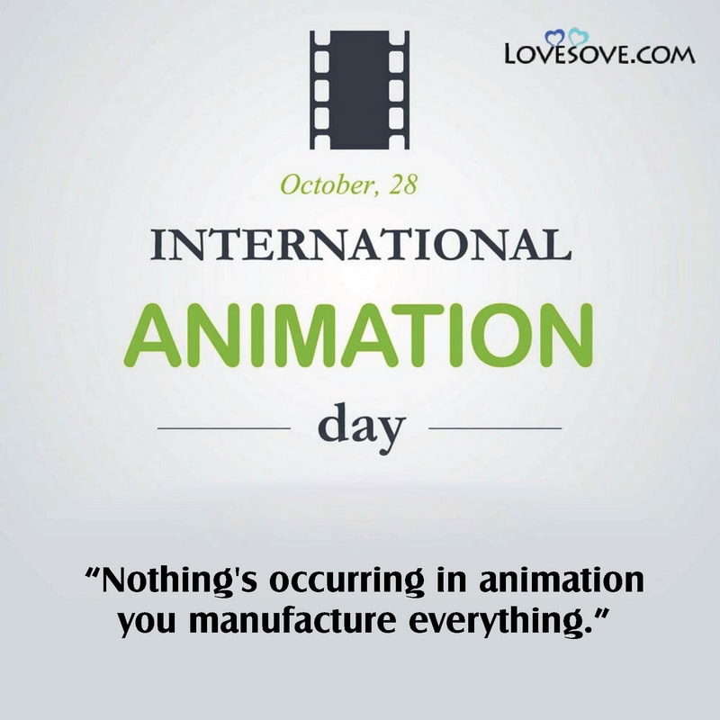 International Animation Day, Happy International Animation Day, International Animation Day 2020, International Day Of Animation,