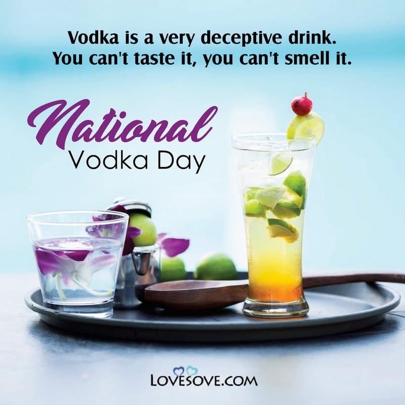 National Vodka Day, National Vodka Day Images, National Vodka Day Quotes, National Vodka Day Messages, National Vodka Day Status,