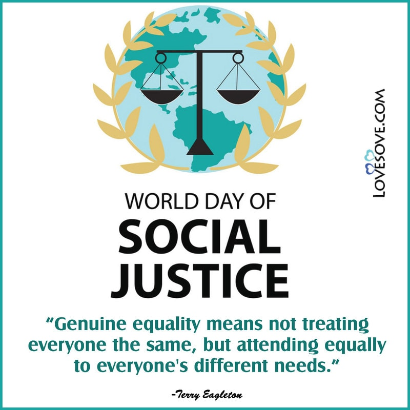 Social Justice Day, Social Justice Day 25 September, Social Justice Day Images, Social Justice Day Quotes, World Day Of Social Justice Quotes,