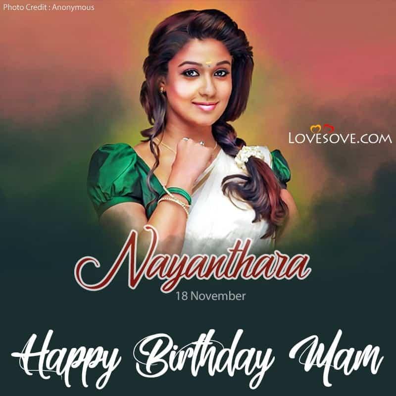 Happy Birthday Nayanthara, Happy Birthday Nayanthara Photos, Happy Birthday Nayanthara Images, Happy Birthday Nayanthara Status, Nayanthara Birthday Wishes, Birthday Wishes For Nayanthara,