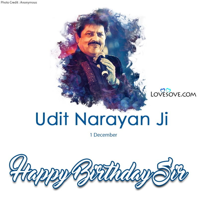 Happy Birthday Udit Narayan, Udit Narayan Birthday Wishes, Birthday Wishes For Udit Narayan, Birthday Status To Udit Narayan, Udit Narayan Happy Birthday,