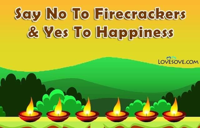 Go Green On Diwali, Go Green For Diwali, Go Green Deepavali, Pollution Free Diwali, Pollution Free Diwali Slogans,