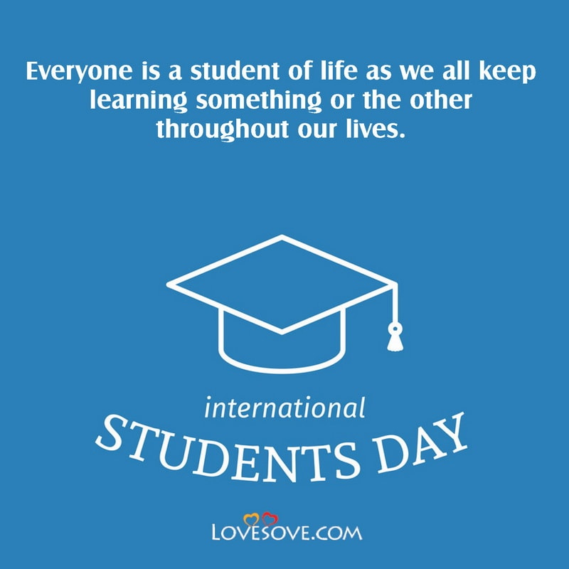 International Students Day, International Students Day Quotes, International Students Day Images, International Students Day 2020,