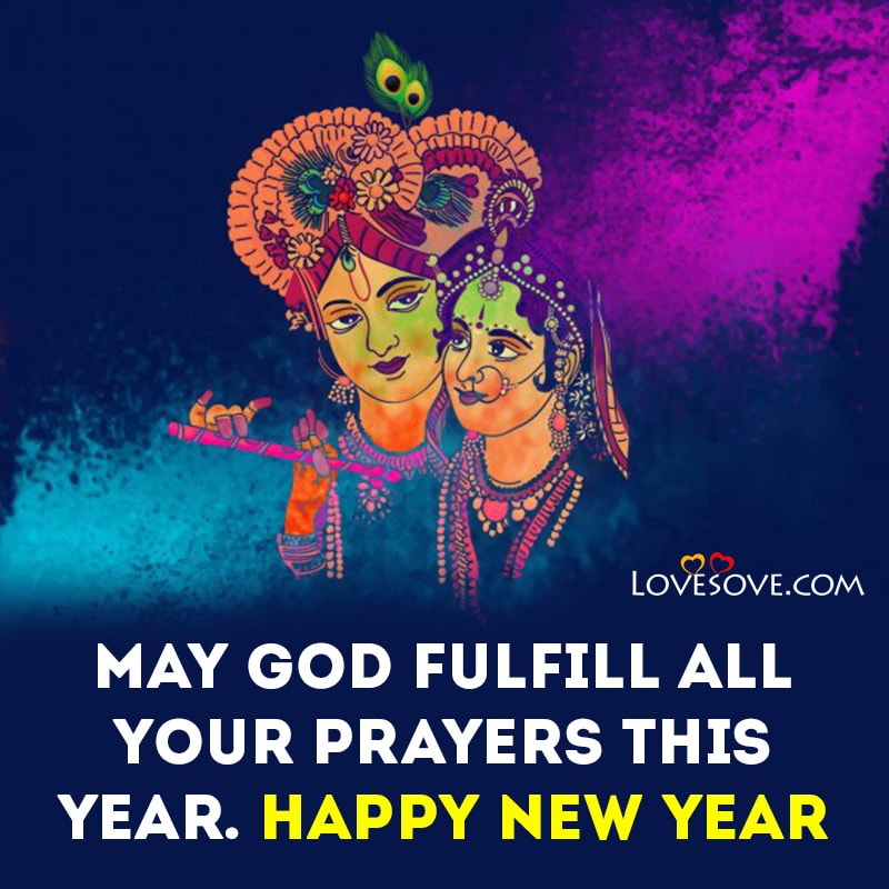 New Year Wishes Greetings & Status In Religious, New Year Wishes In Religious, new year religious inspirational quotes lovesove